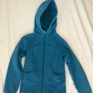 Lululemon blue fullzip hooded coat